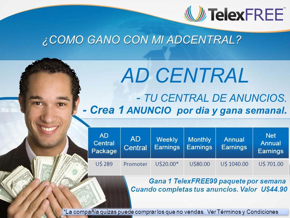 AD CENTRAL - TU CENTRAL DE ANUNCIOS.