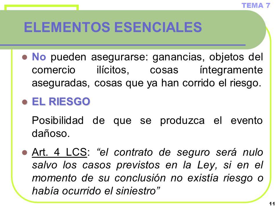 TEMA 7 ELEMENTOS ESENCIALES.
