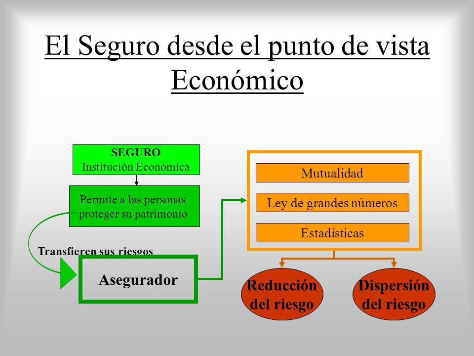 El Seguro desde el punto de vista Económico