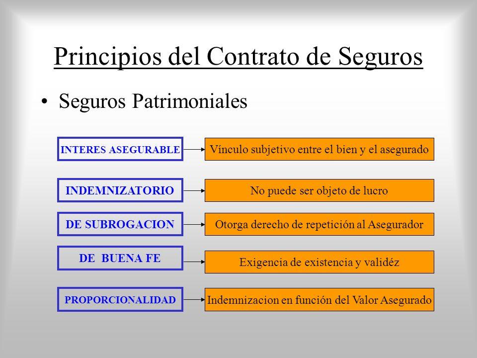 Principios del Contrato de Seguros