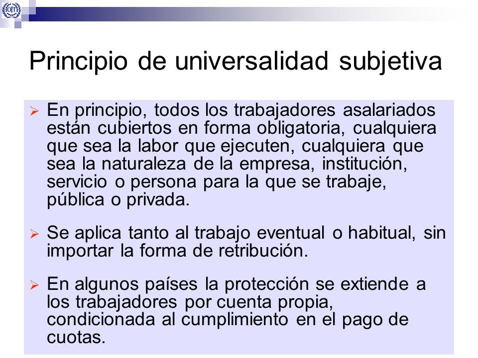 Principio de universalidad subjetiva