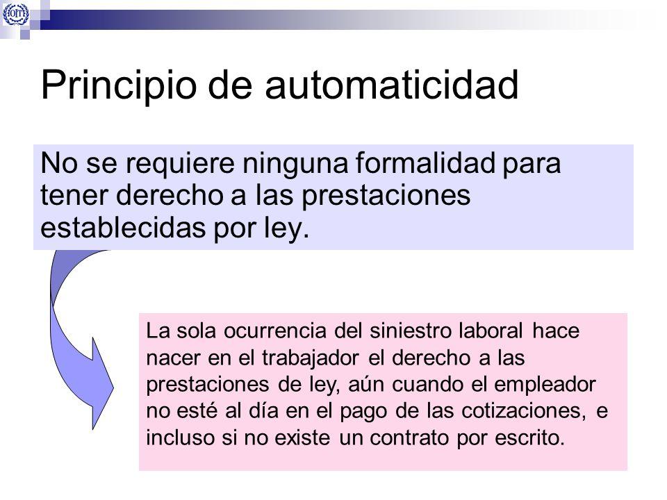 Principio de automaticidad