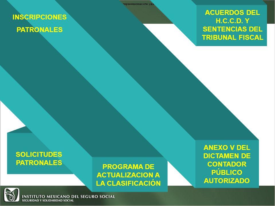 ACUERDOS DEL H.C.C.D. Y SENTENCIAS DEL TRIBUNAL FISCAL