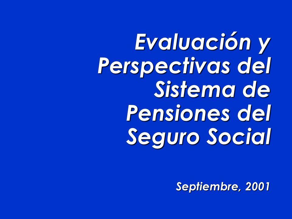 Evaluación y Perspectivas del Sistema de Pensiones del Seguro Social