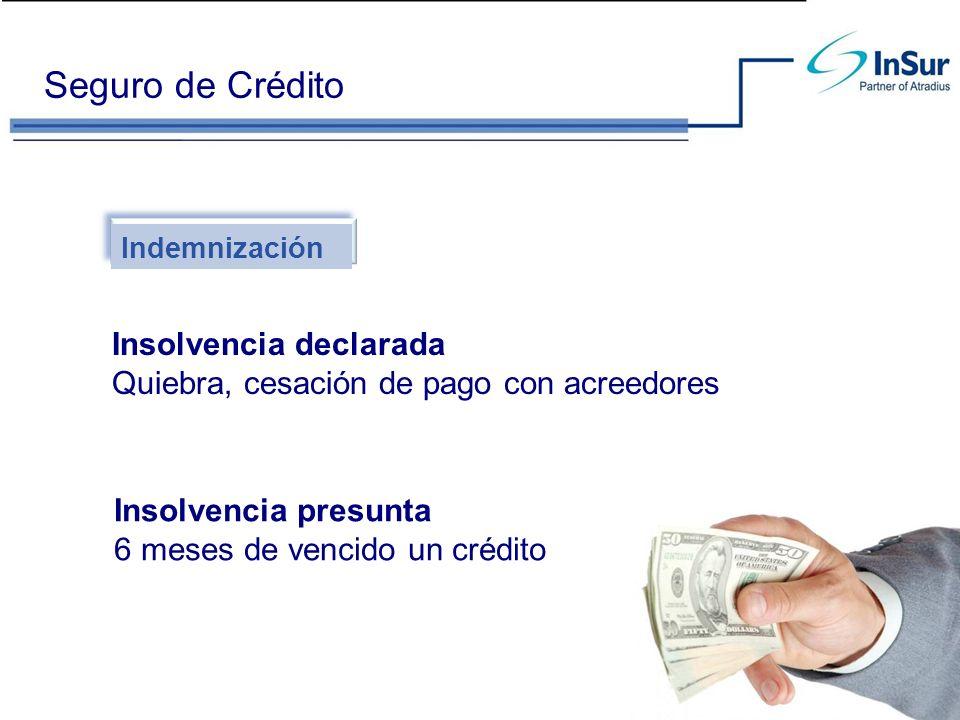Seguro de Crédito Insolvencia declarada