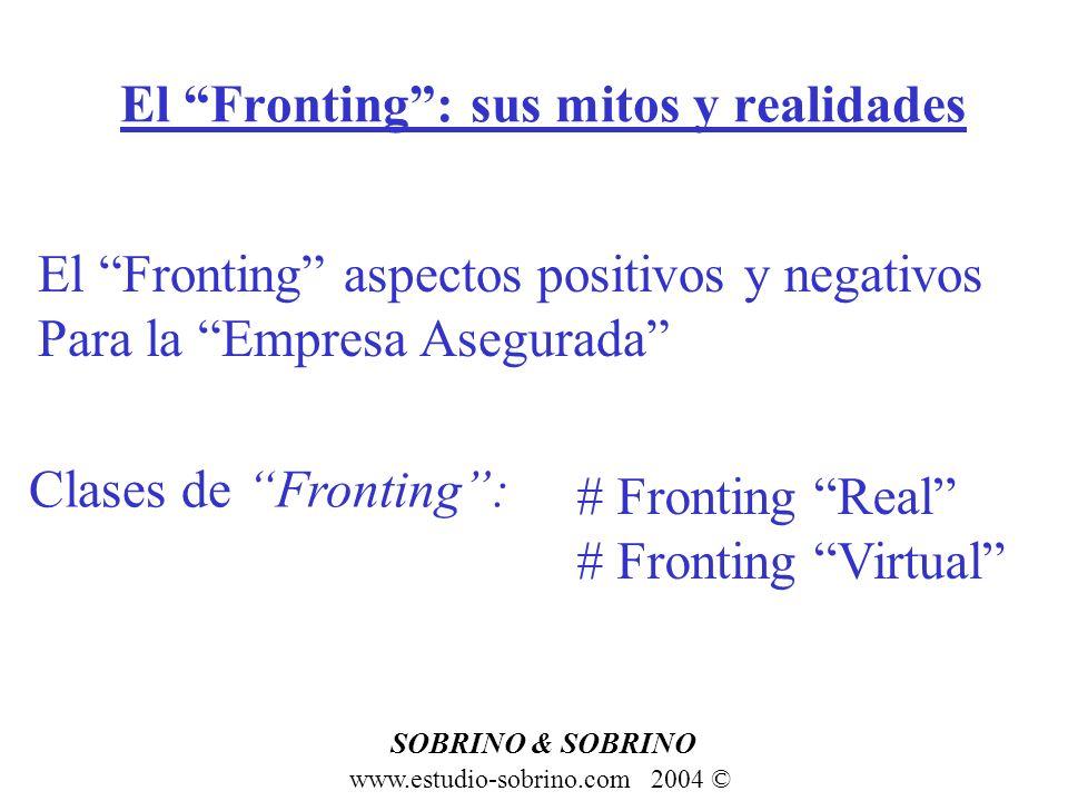 El Fronting : sus mitos y realidades