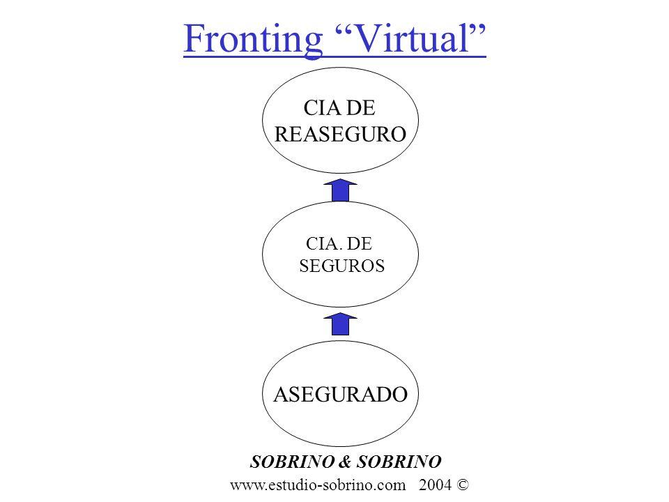 Fronting Virtual CIA DE REASEGURO ASEGURADO CIA. DE SEGUROS