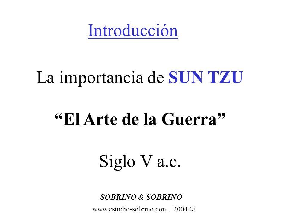 La importancia de SUN TZU