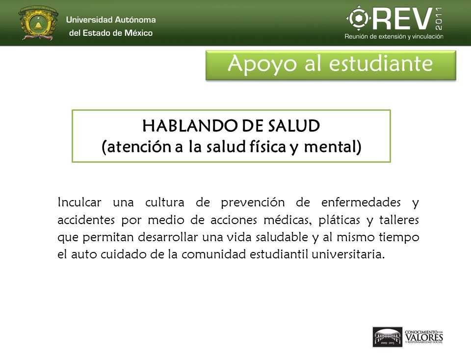 HABLANDO DE SALUD (atención a la salud física y mental)