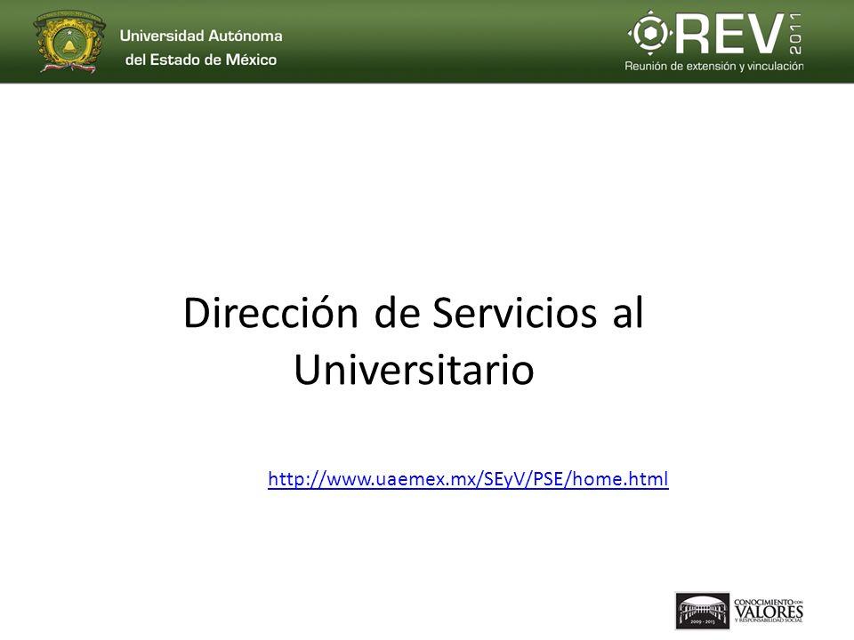 Dirección de Servicios al Universitario