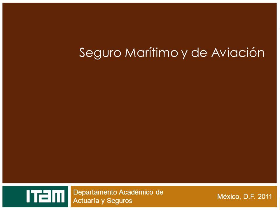 Seguro Marítimo y de Aviación