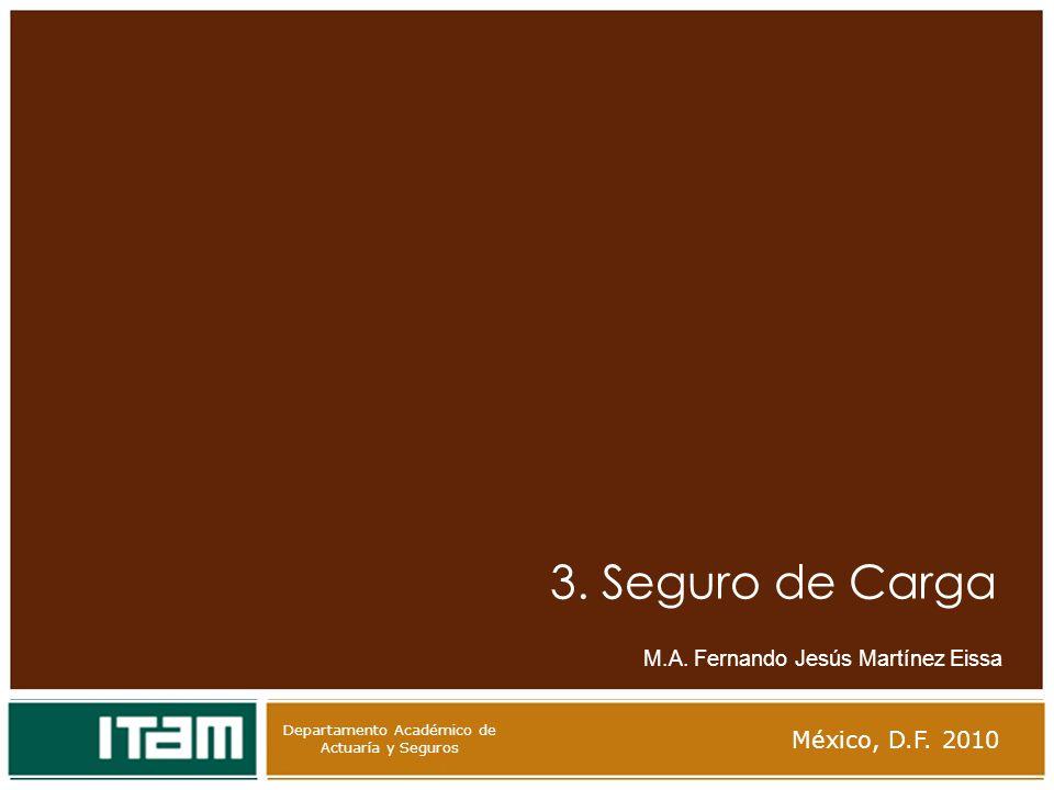 3. Seguro de Carga México, D.F. 2010