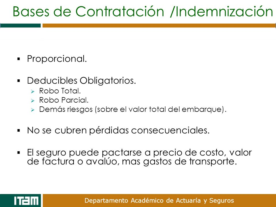Bases de Contratación /Indemnización