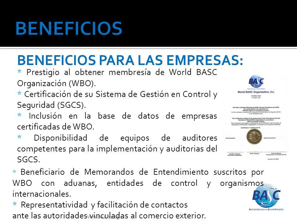 BENEFICIOS BENEFICIOS PARA LAS EMPRESAS: