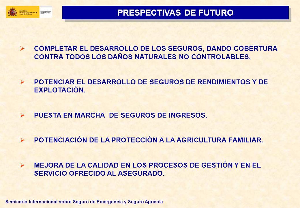 PRESPECTIVAS DE FUTURO