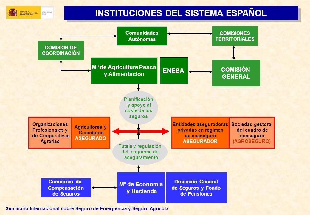 INSTITUCIONES DEL SISTEMA ESPAÑOL