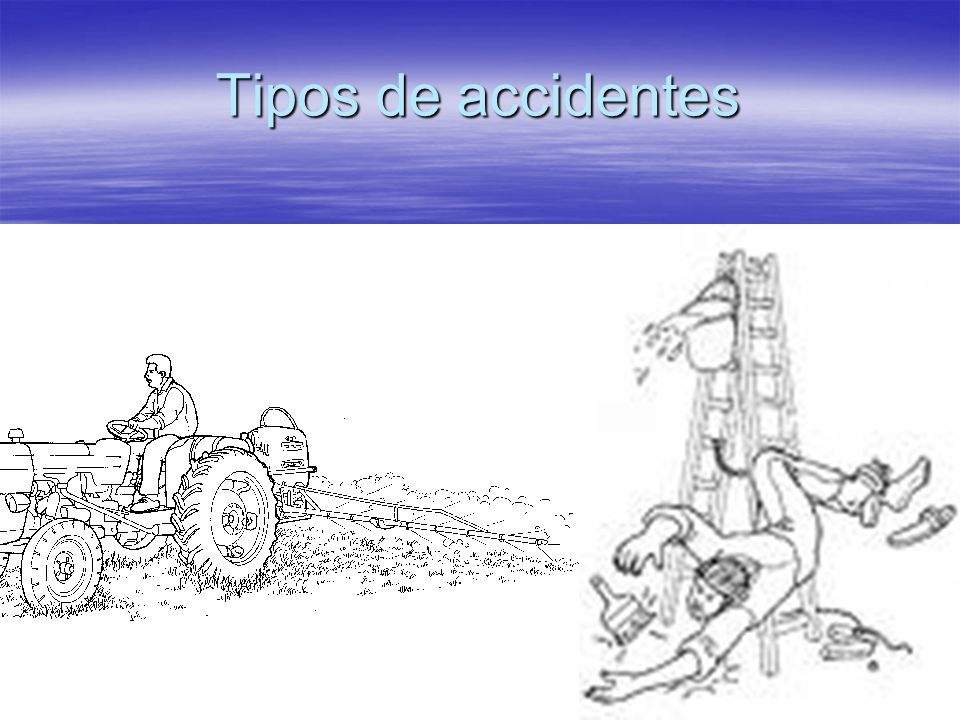 Tipos de accidentes