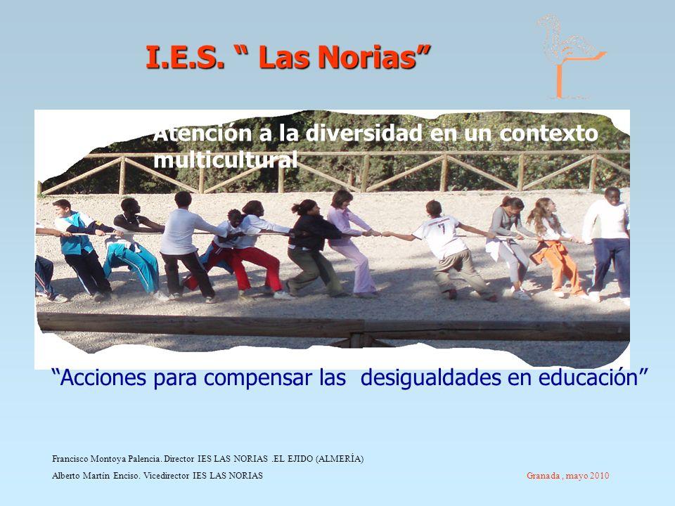 I.E.S. Las Norias Atención a la diversidad en un contexto multicultural. Acciones para compensar las desigualdades en educación