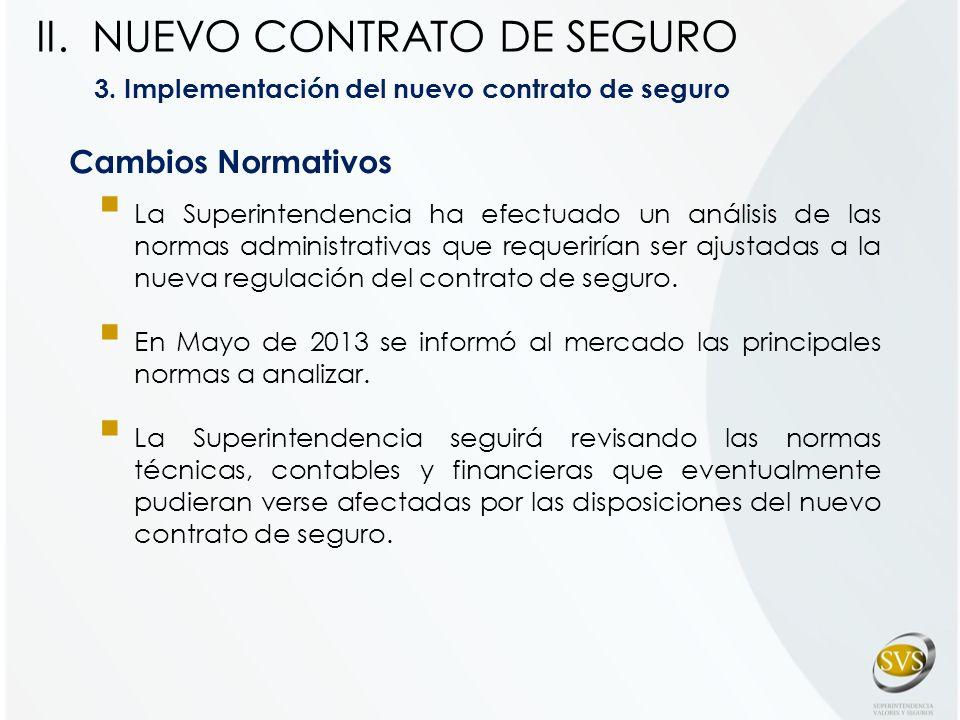 NUEVO CONTRATO DE SEGURO