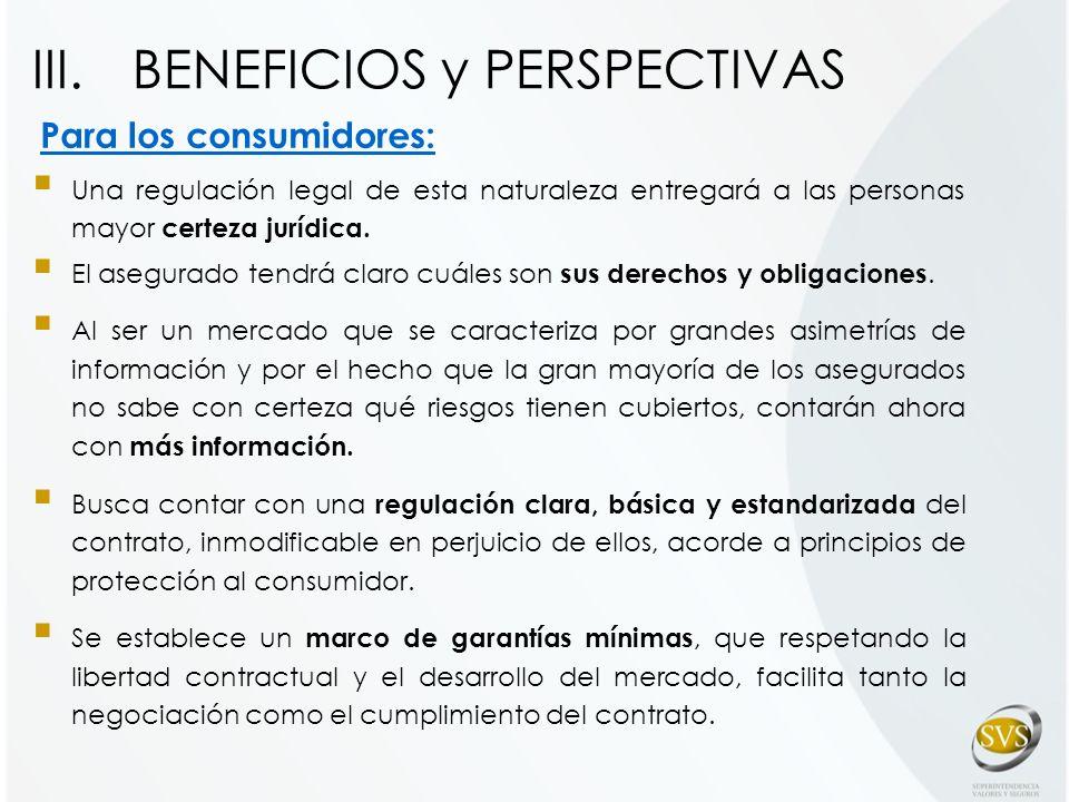 Para los consumidores: