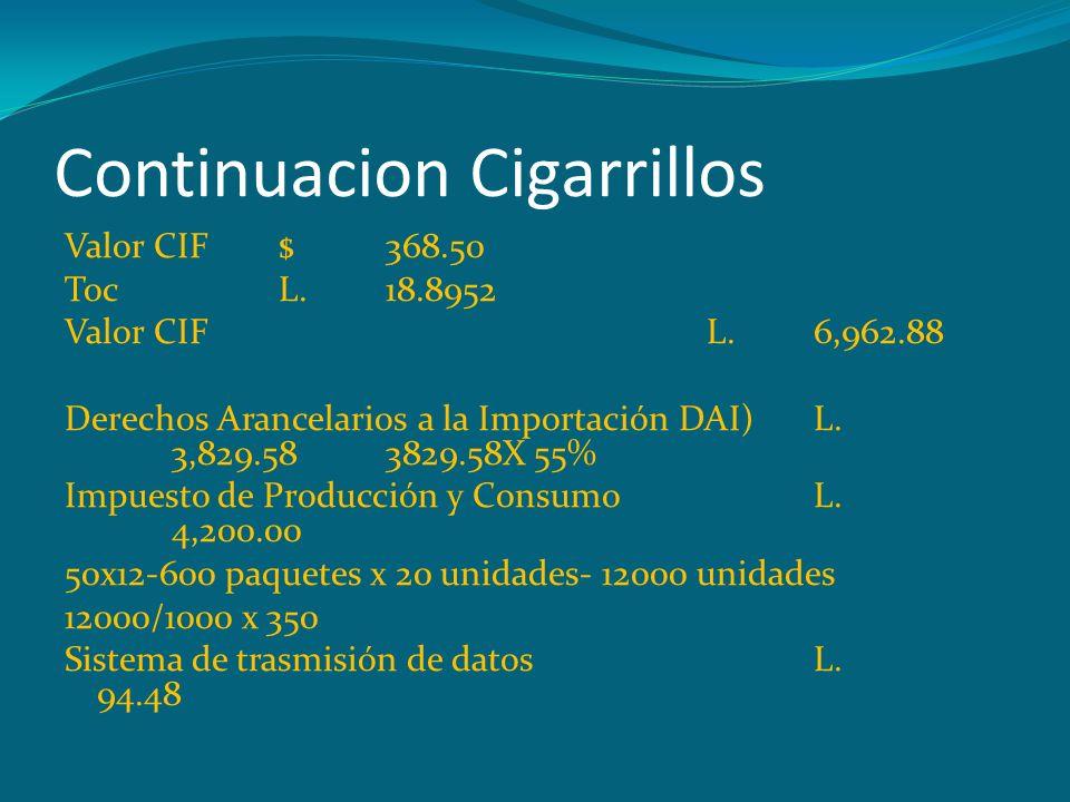 Continuacion Cigarrillos