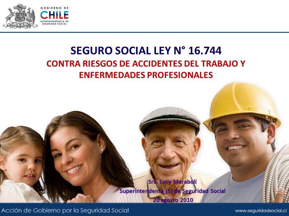Superintendenta (S) de Seguridad Social