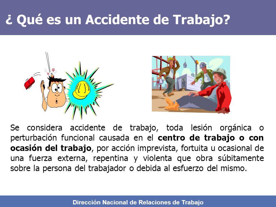 ¿ Qué es un Accidente de Trabajo