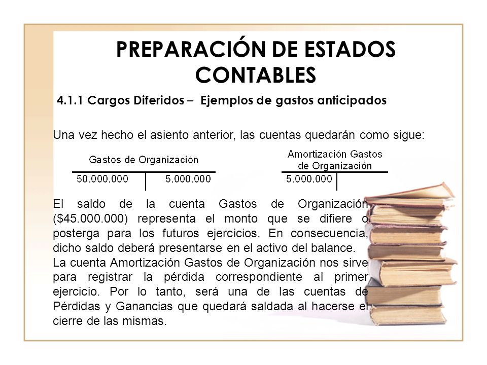 PREPARACIÓN DE ESTADOS CONTABLES