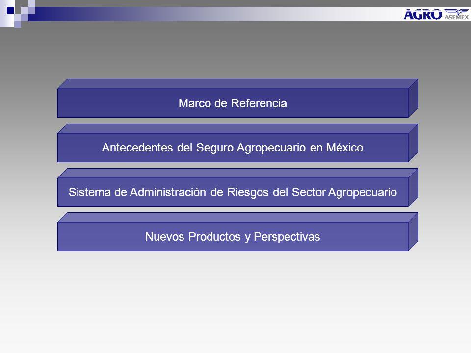 Antecedentes del Seguro Agropecuario en México