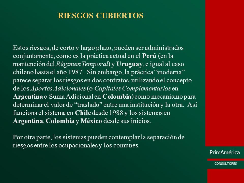 RIESGOS CUBIERTOS