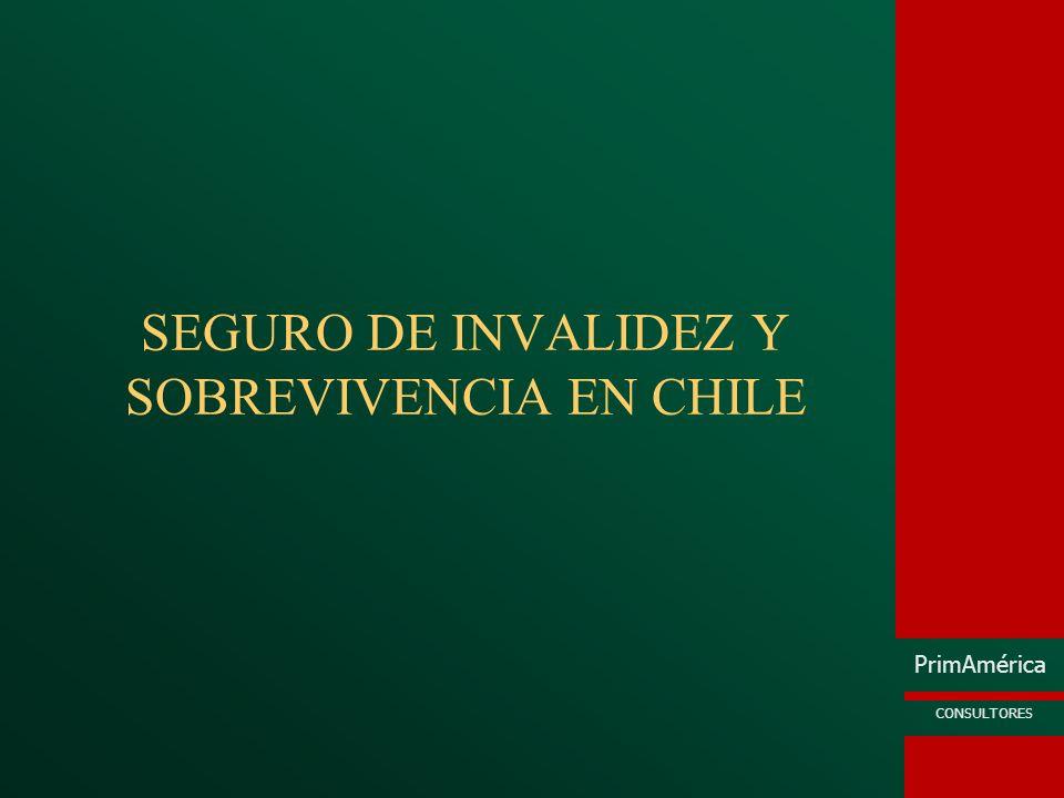 SEGURO DE INVALIDEZ Y SOBREVIVENCIA EN CHILE