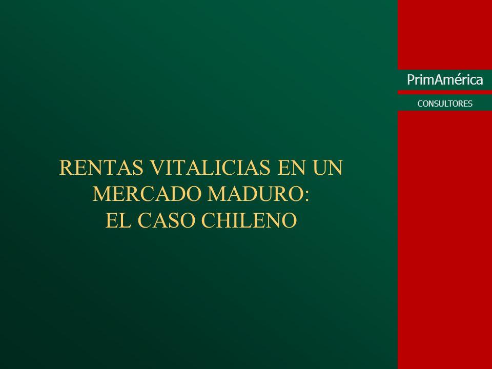 RENTAS VITALICIAS EN UN MERCADO MADURO: EL CASO CHILENO