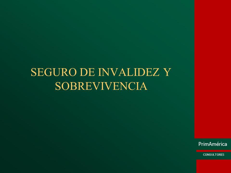 SEGURO DE INVALIDEZ Y SOBREVIVENCIA