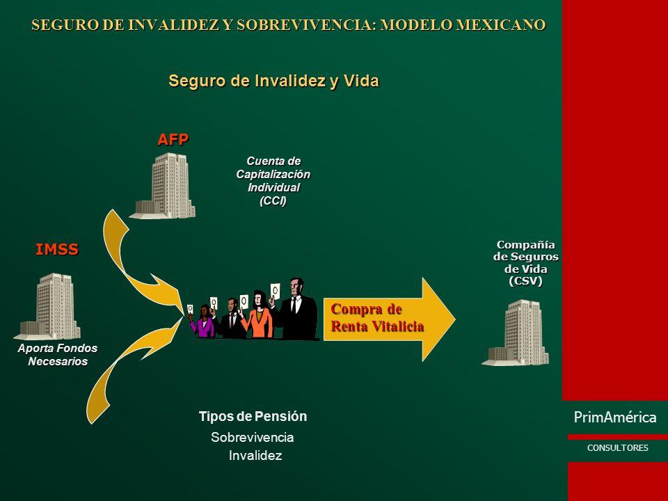 SEGURO DE INVALIDEZ Y SOBREVIVENCIA: MODELO MEXICANO