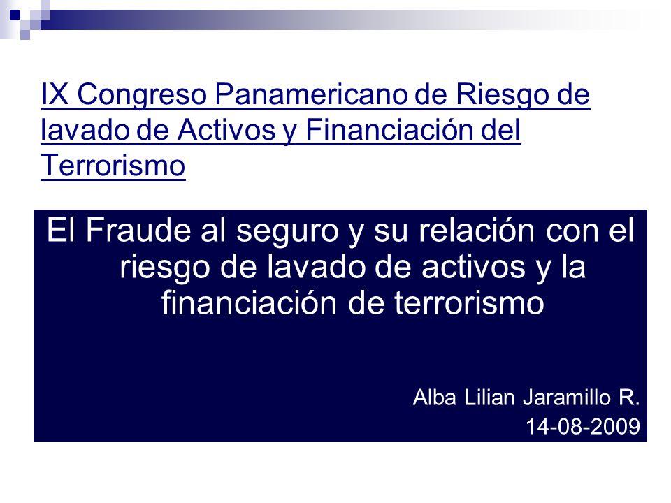 IX Congreso Panamericano de Riesgo de lavado de Activos y Financiación del Terrorismo