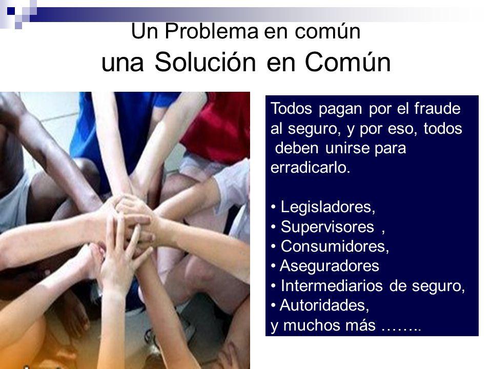Un Problema en común una Solución en Común
