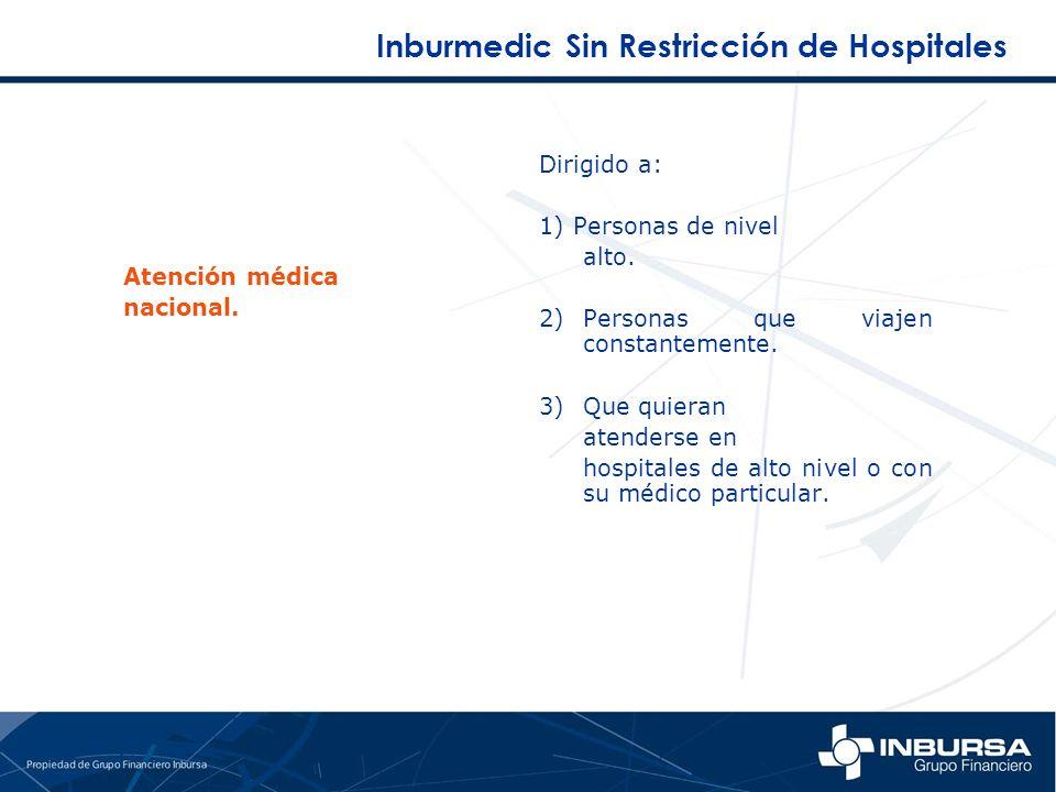 Inburmedic Sin Restricción de Hospitales