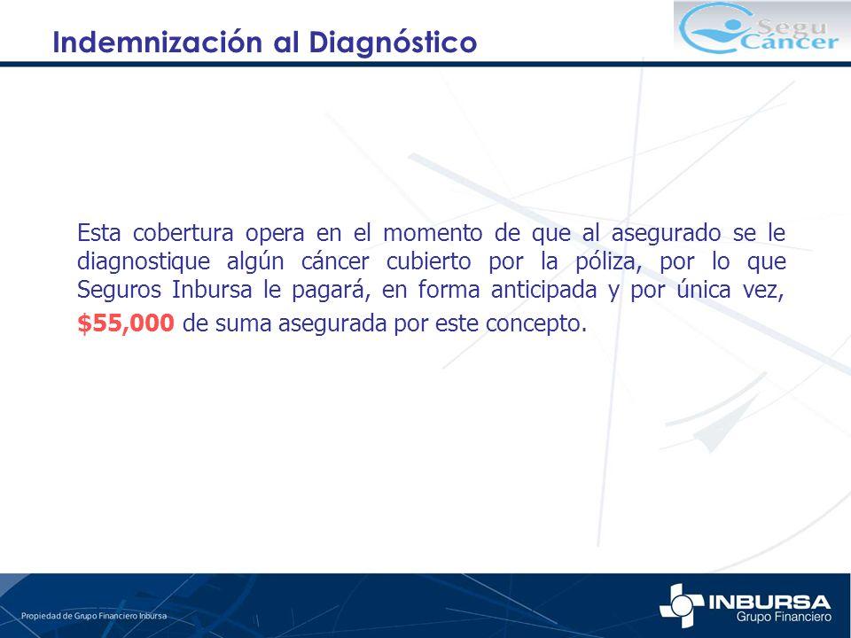 Indemnización al Diagnóstico