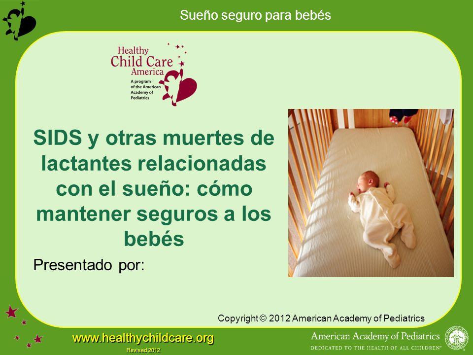 SIDS y otras muertes de lactantes relacionadas con el sueño: cómo mantener seguros a los bebés