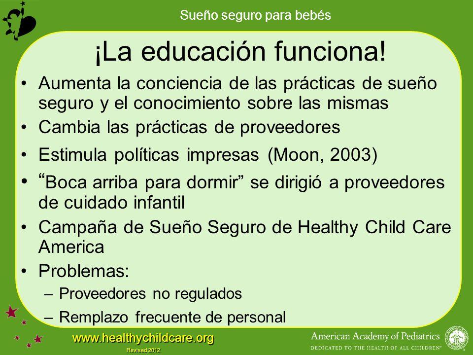 ¡La educación funciona!