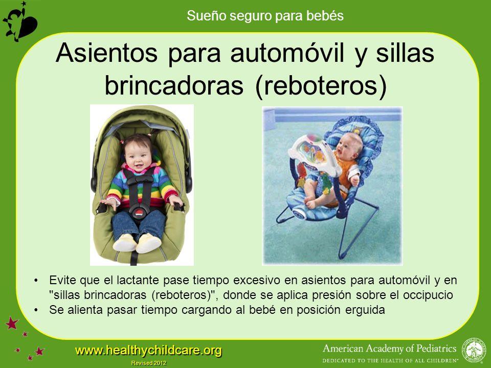 Asientos para automóvil y sillas brincadoras (reboteros)