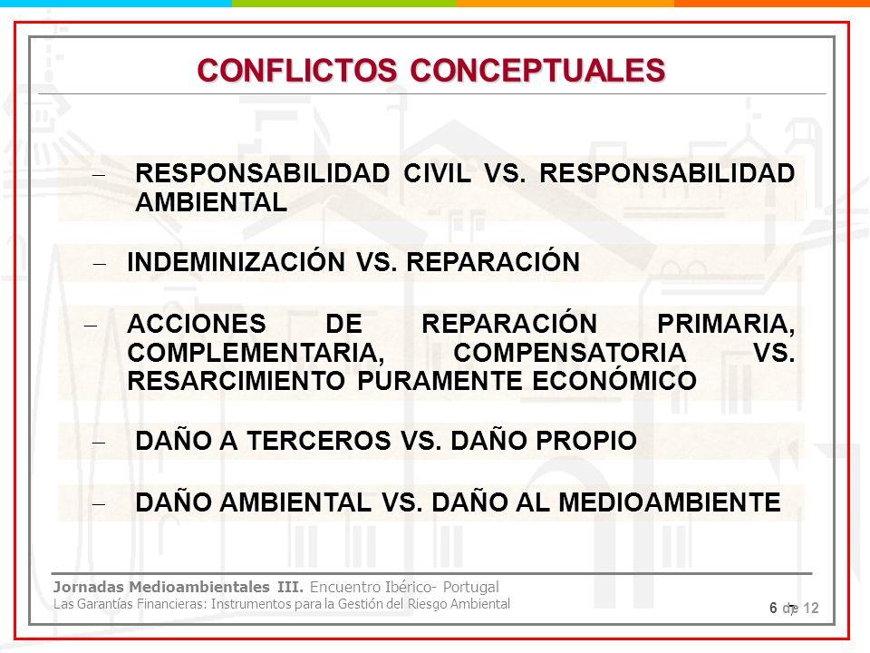 CONFLICTOS CONCEPTUALES