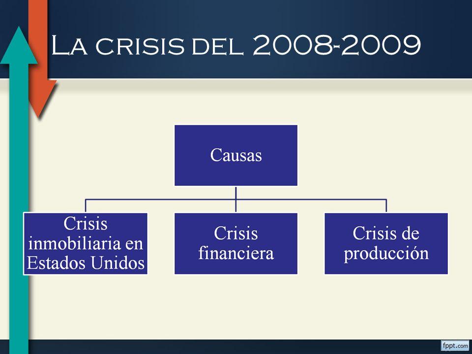 La crisis del 2008-2009