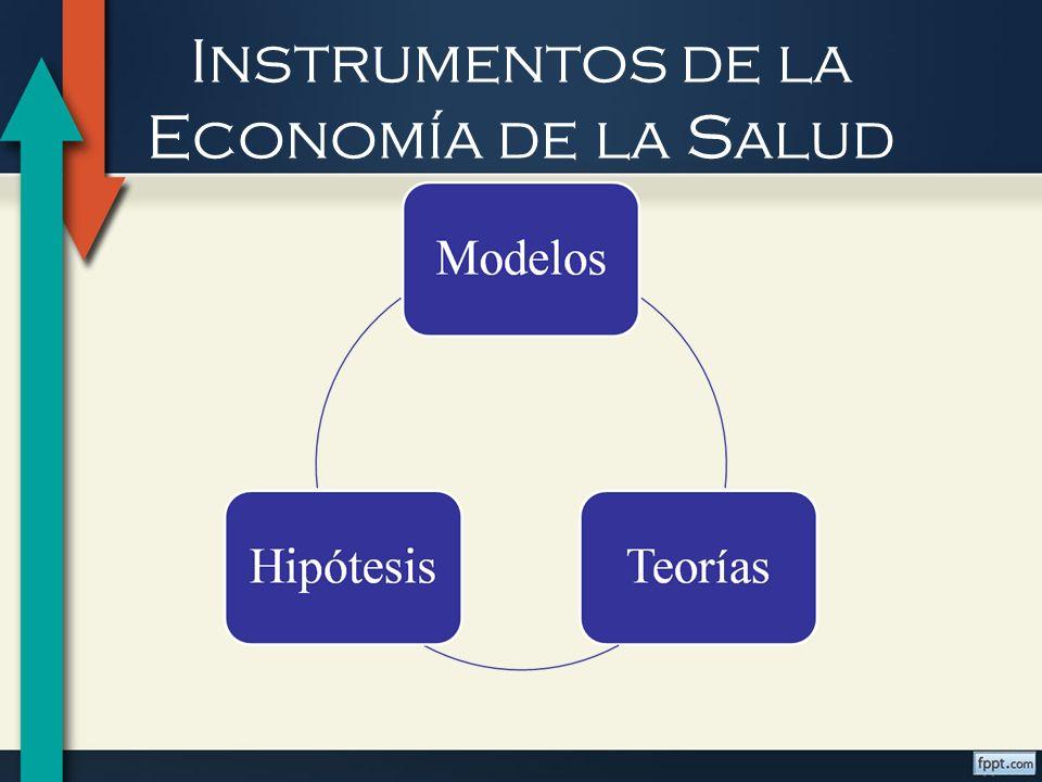 Instrumentos de la Economía de la Salud