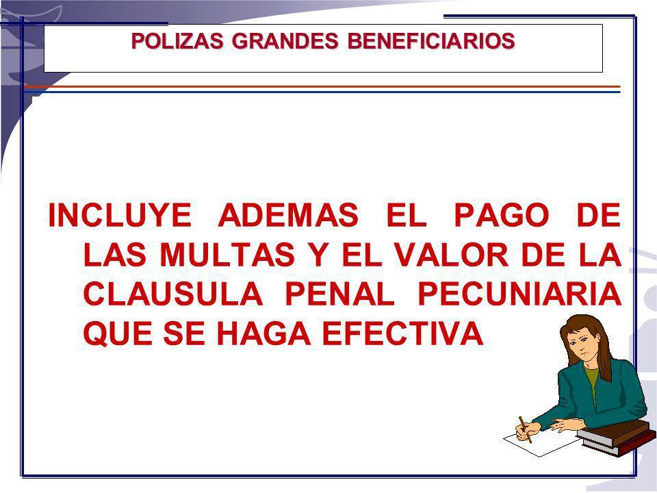 POLIZAS GRANDES BENEFICIARIOS