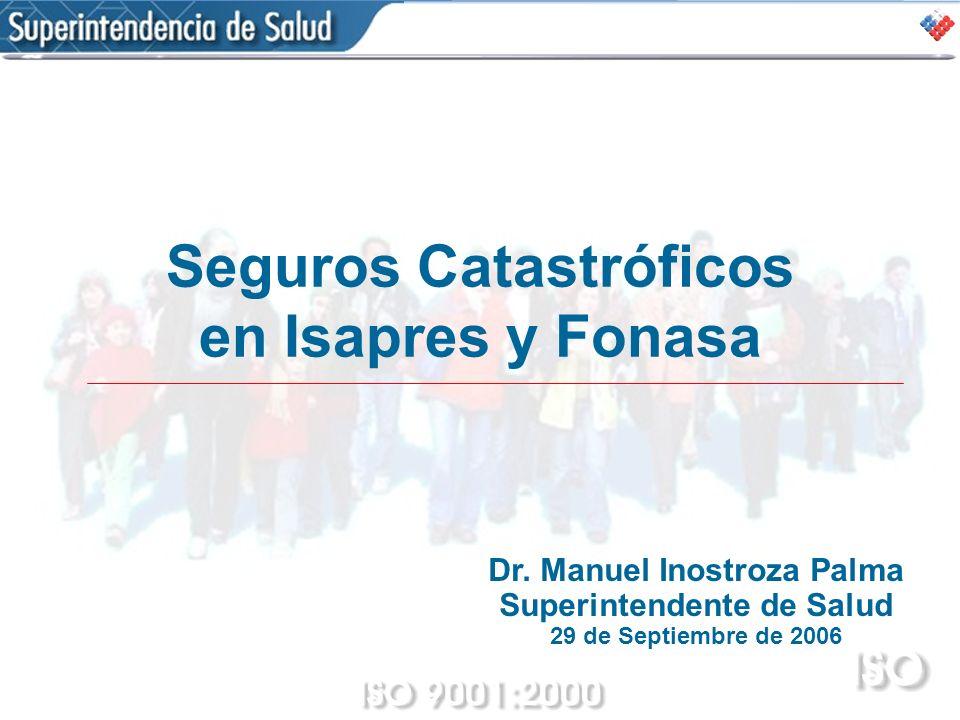 Seguros Catastróficos en Isapres y Fonasa