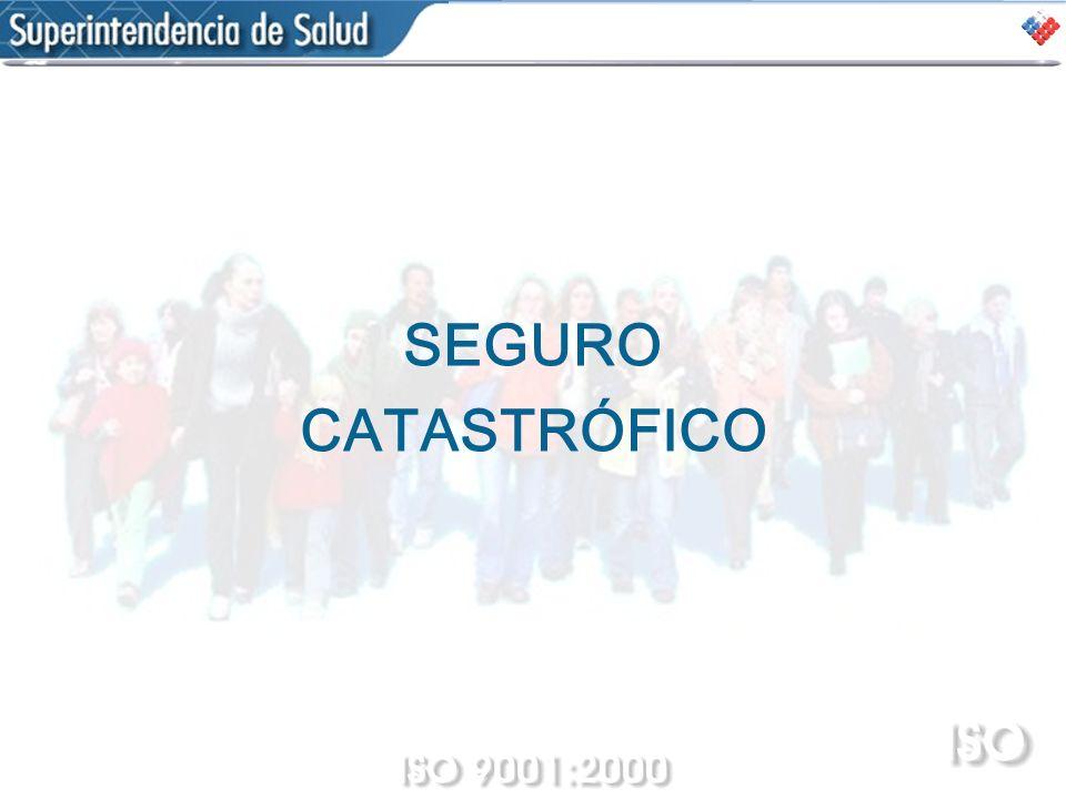 SEGURO CATASTRÓFICO