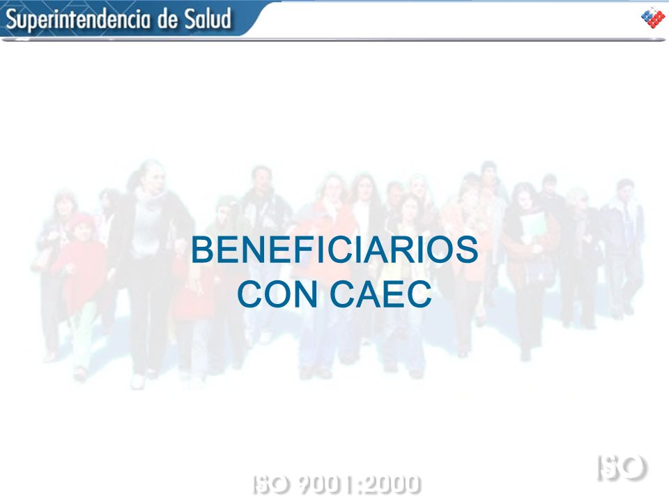 BENEFICIARIOS CON CAEC
