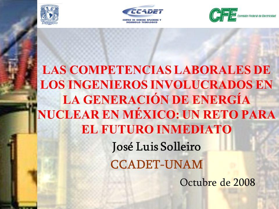 José Luis Solleiro CCADET-UNAM