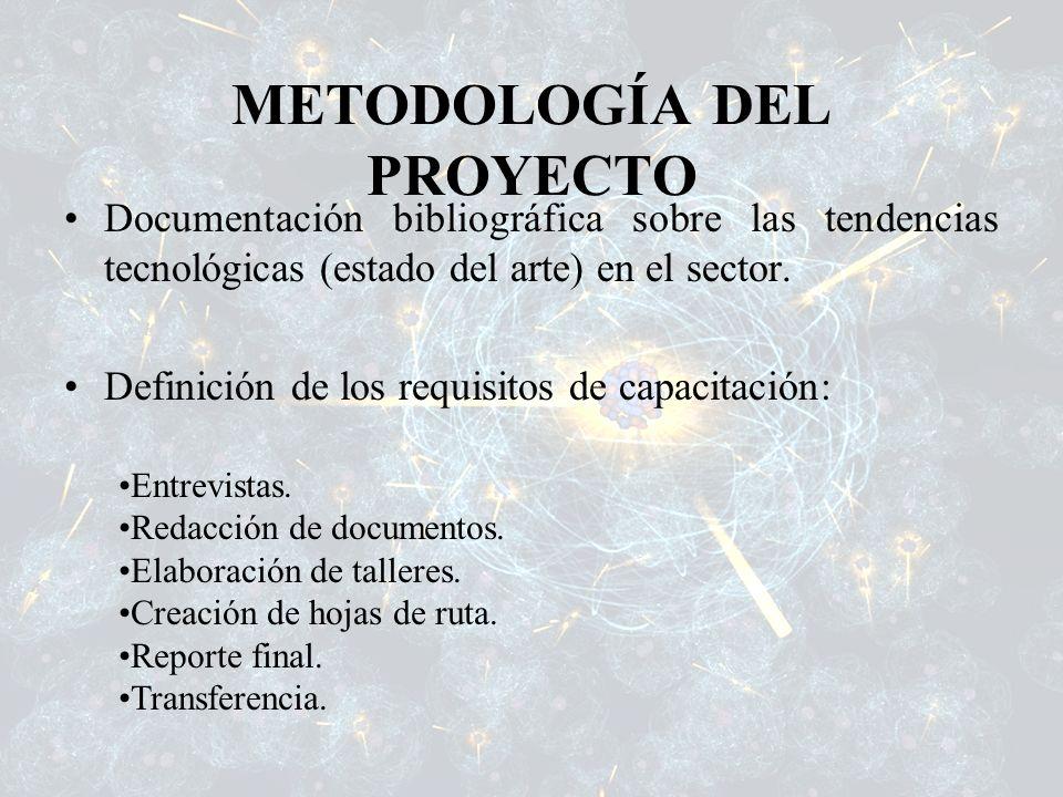 METODOLOGÍA DEL PROYECTO